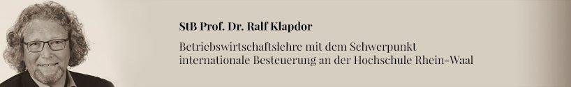 Ralf Klapdor