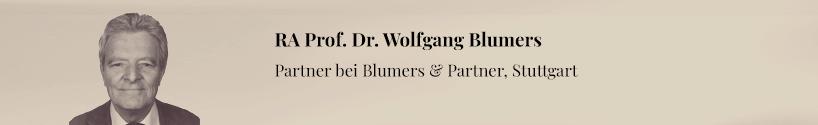 Wolfgang Blumers