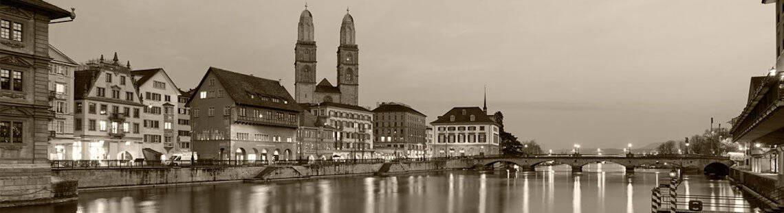 Ansicht von Zürich