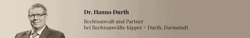 Hanno Durth