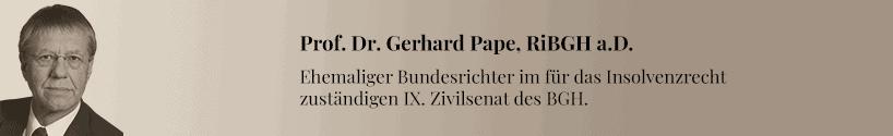 Gerhard Pape