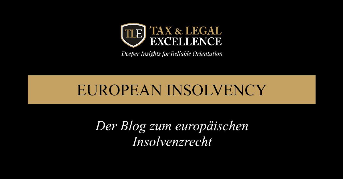 Der Blog zum europäischen Insolvenzrecht