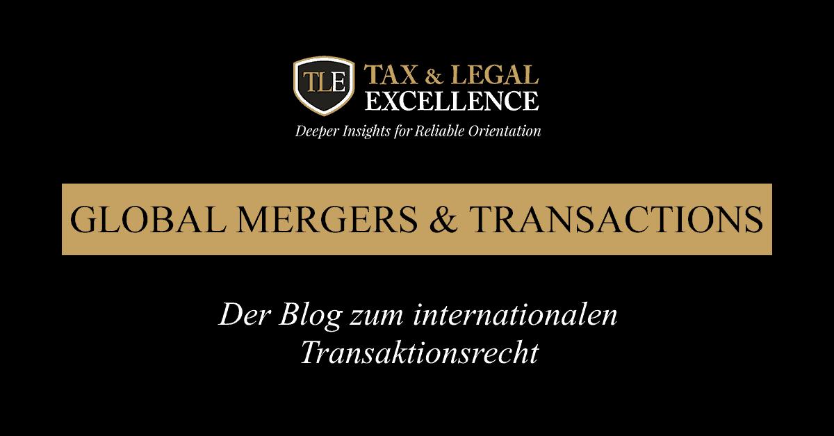 Der Blog zum internationalen Transaktionsrecht