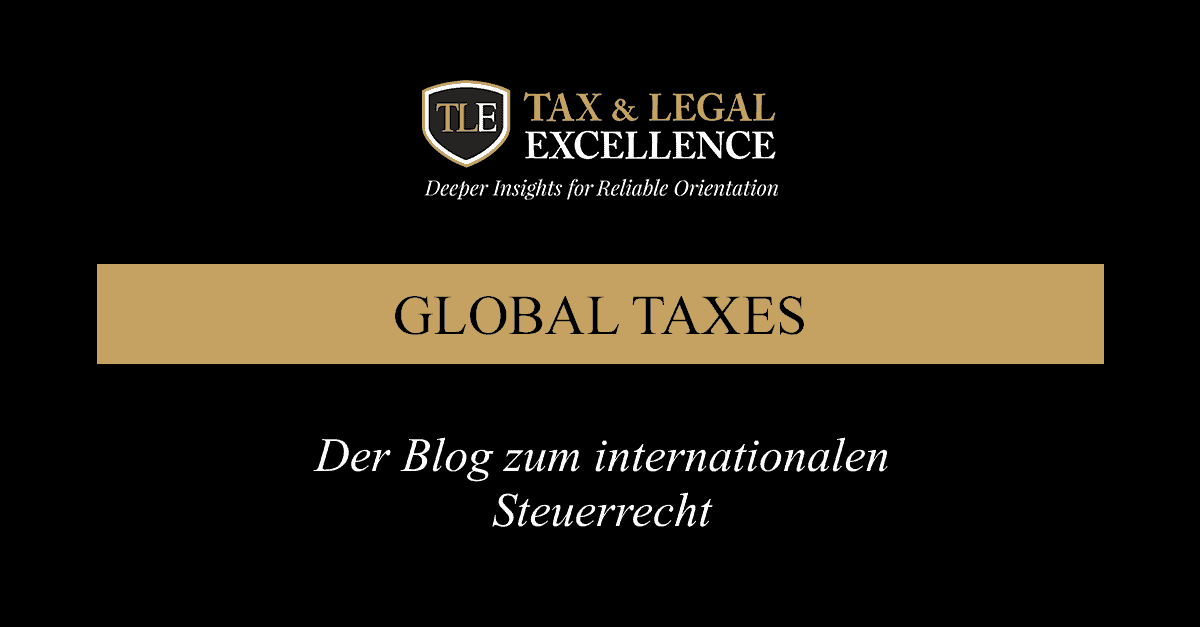 Der Blog zum internationalen Steuerrecht
