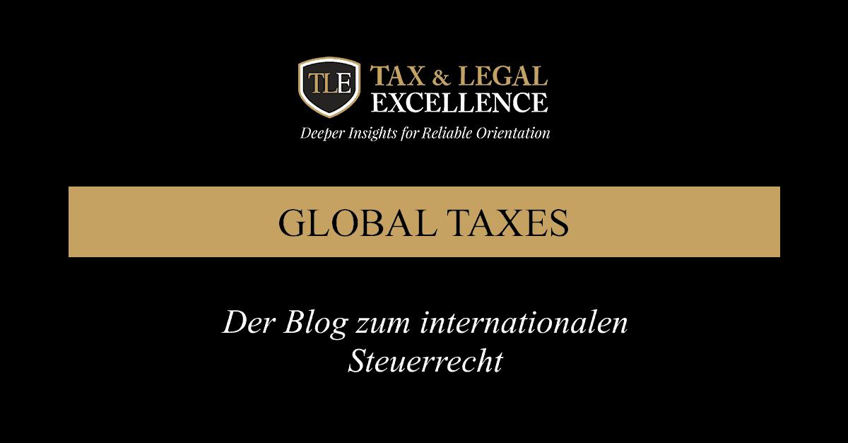 Der Blog zum internationalen Steuerrecht