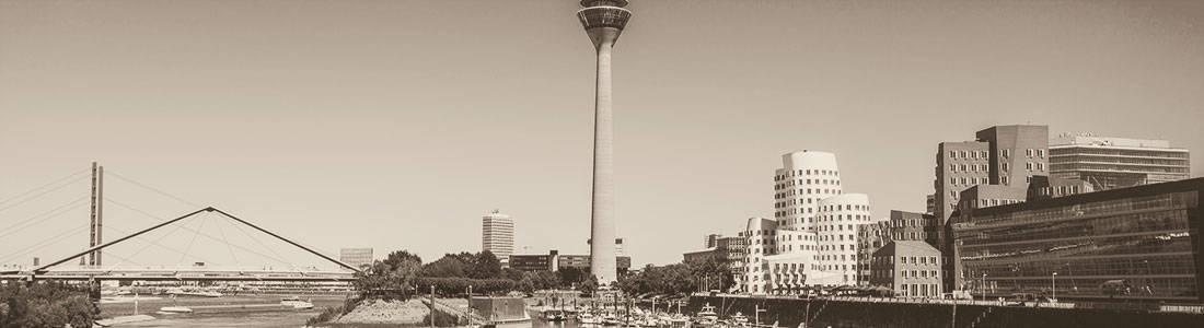 Skyline of Duesseldorf